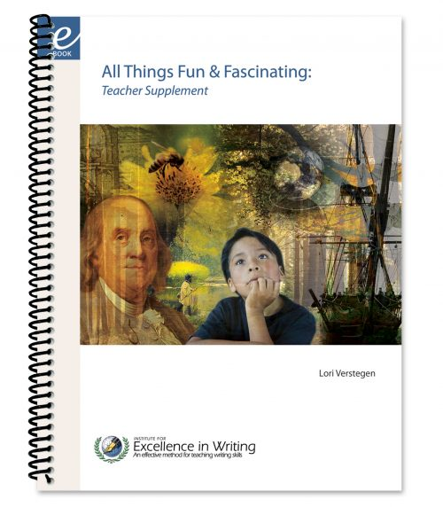 All Things Fun and Fascinating: Teacher Supplement