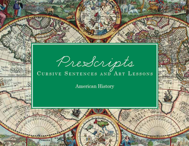 Prescripts: Cursive Sentences and Art Lessons