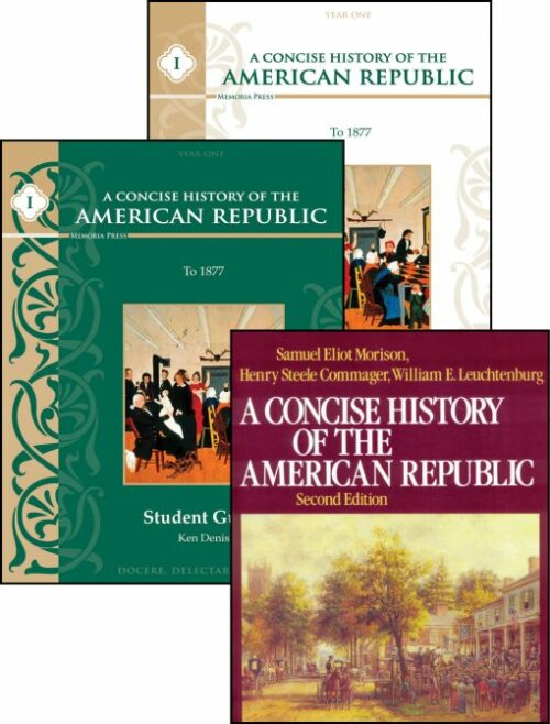 A Concise History of the American Republic set